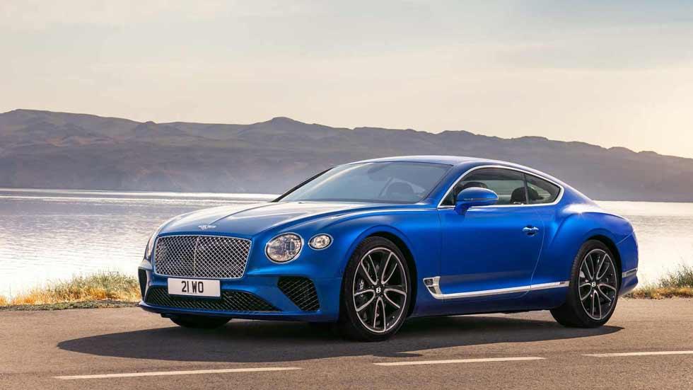 Bentley Continental GT 2018, aún más lujo y deportividad en Frankfurt