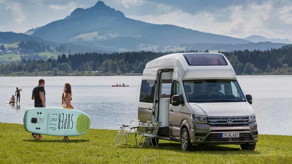 Nueva Volkswagen California XXL, una Camper con mucho estilo