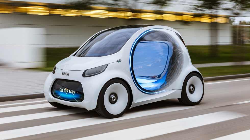 Smart Vision EQ Fortwo: el coche conectado, autónomo, compartido y eléctrico