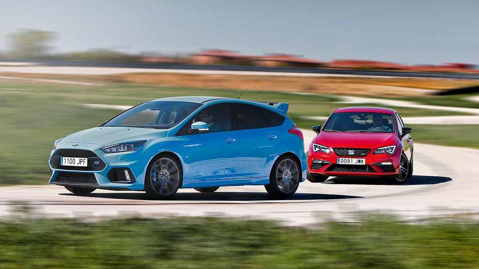 Ford Focus RS vs Seat León Cupra 300: ¿cuál es mejor?