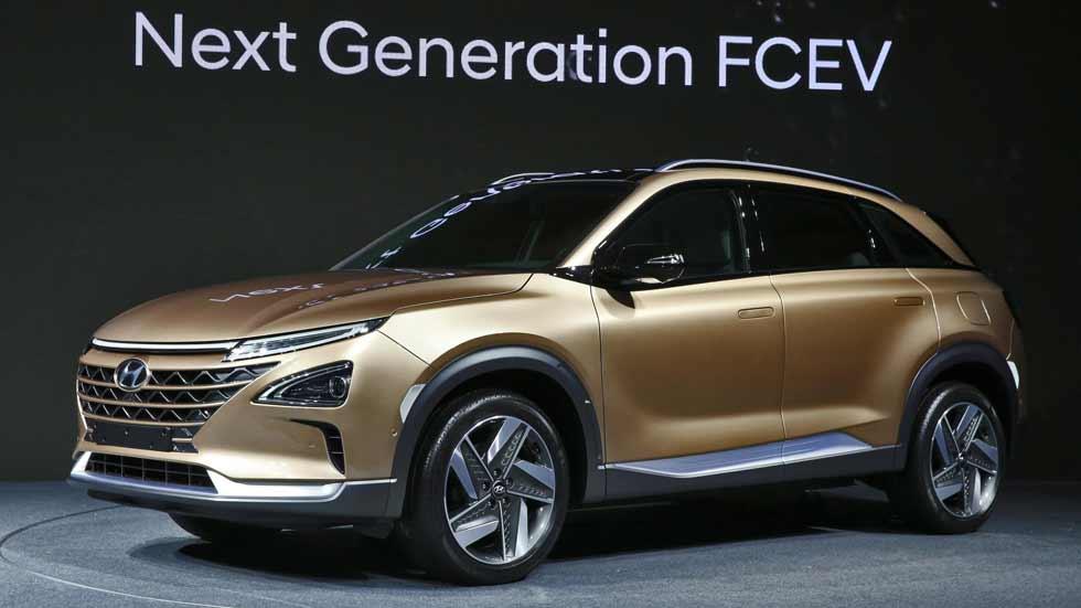 """Hyundai: así será su nuevo SUV """"Tucson"""" 2018 con pila de combustible"""