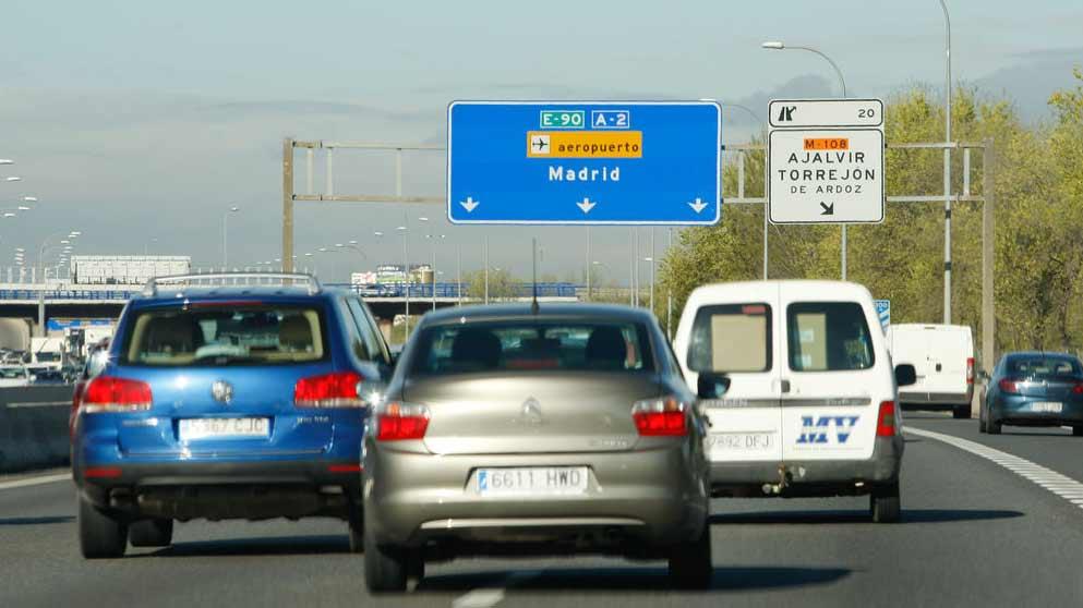 Fomento anuncia un nuevo carril exprés inteligente en Madrid