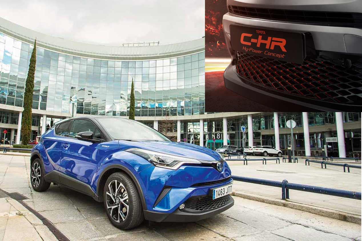 Toyota C-HR Hy-Power: nuevo SUV directo al Salón de Frankfurt