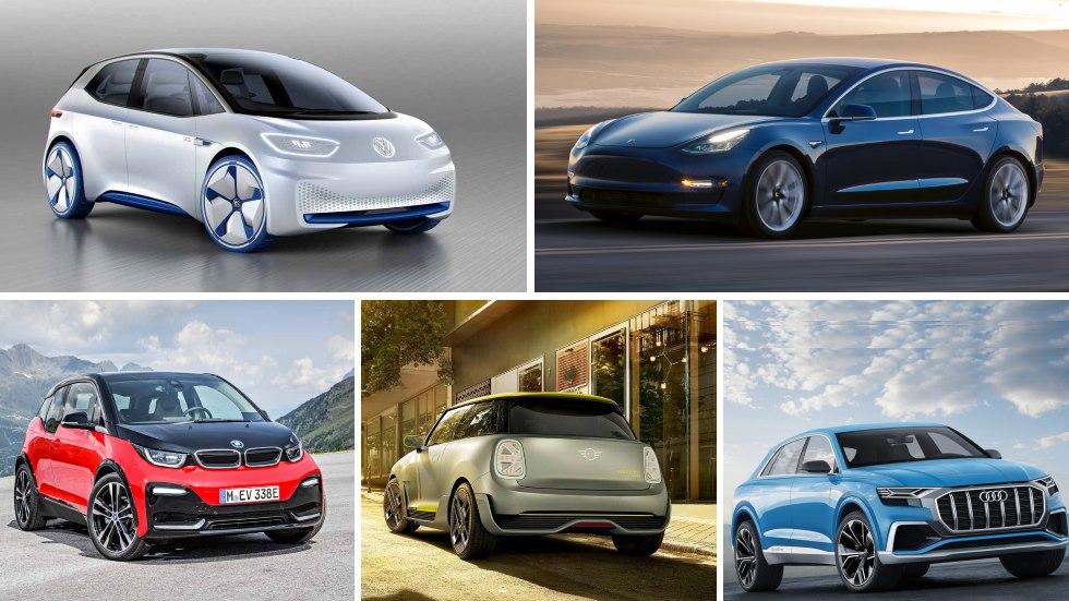 Los 70 coches y SUV eléctricos que llegan hasta 2025: calendario