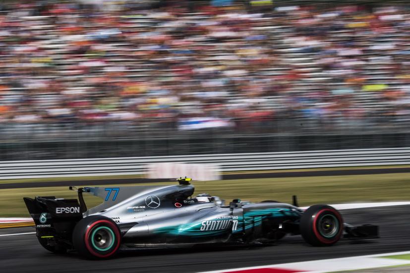 GP de Italia: los Mercedes dominaron la FP2