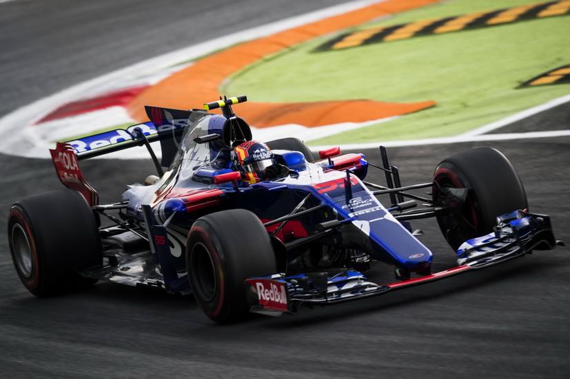 GP de Italia: Sainz rompió el motor durante la FP2