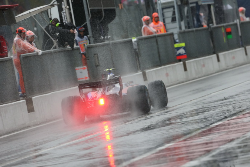 GP de Italia: finalmente se disputó la FP3, aunque con mucha lluvia