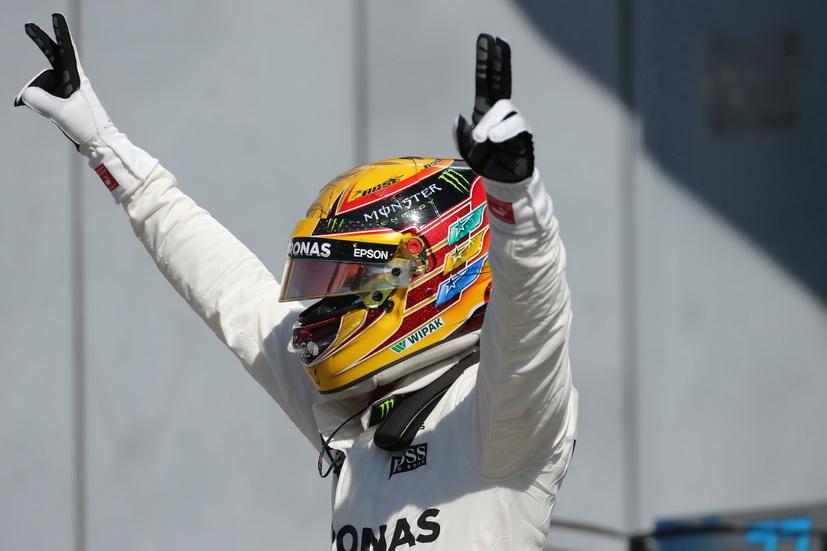GP de Italia: Hamilton, líder del mundial tras la victoria en Monza