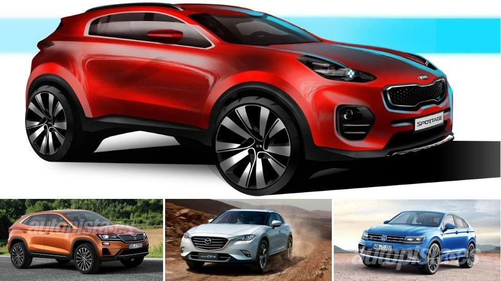 Nuevo Kia Sportage Coupé y sus futuros rivales SUV