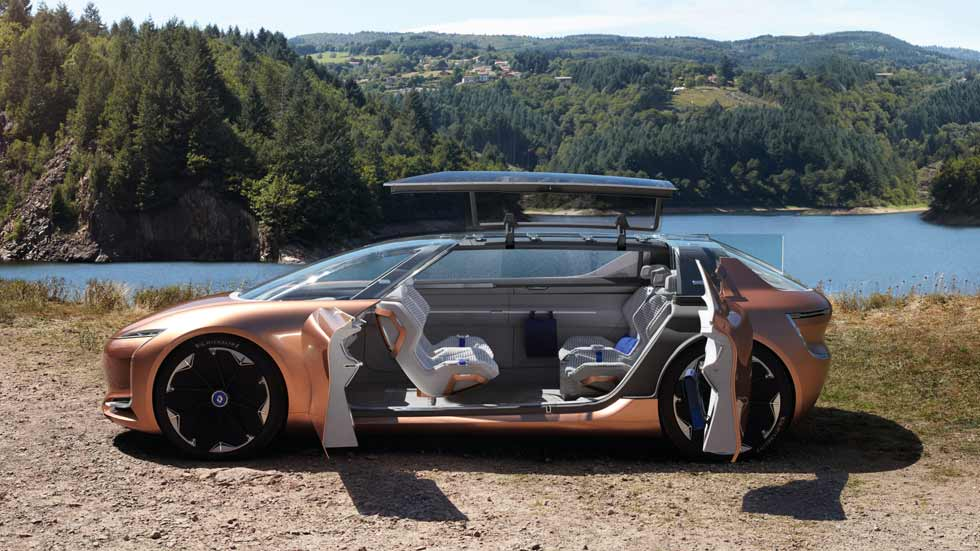 Renault Symbioz: así será el coche autónomo de 2030 (VÍDEO)