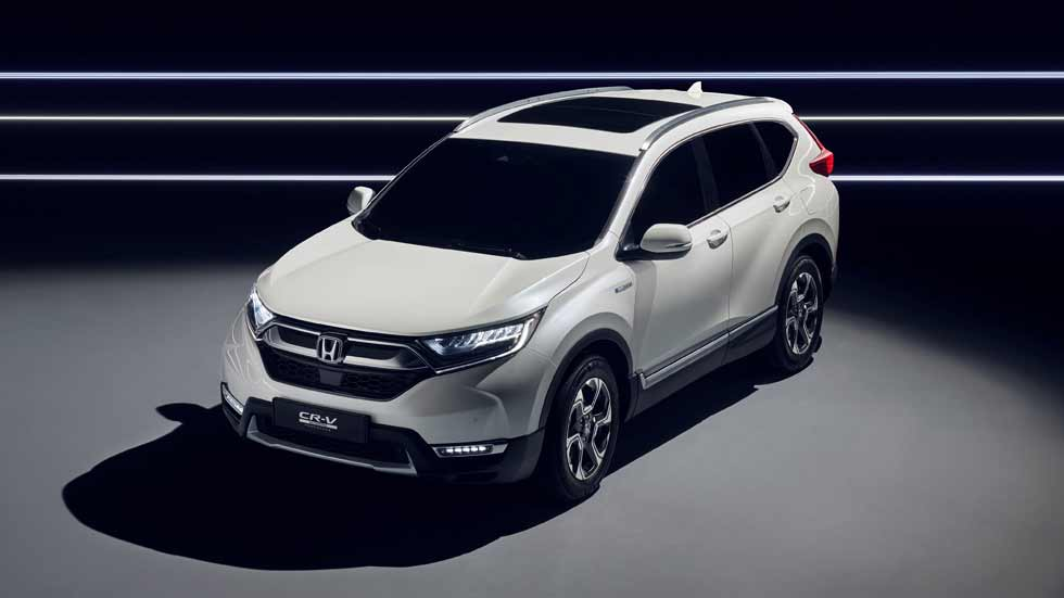 Honda CR-V Hybrid Prototype: así será el nuevo SUV híbrido