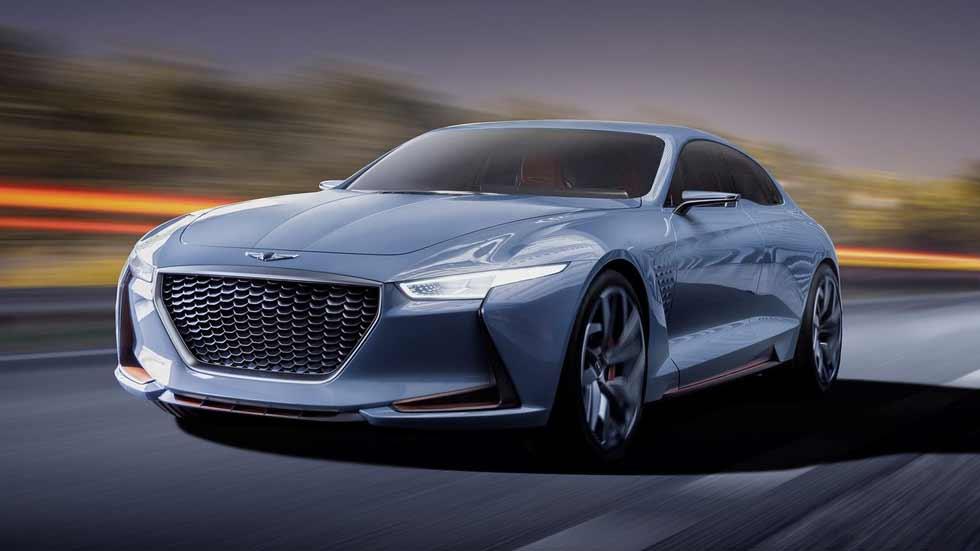El Genesis G70, con la base del Kia Stinger, se presenta en una semana (vídeo)