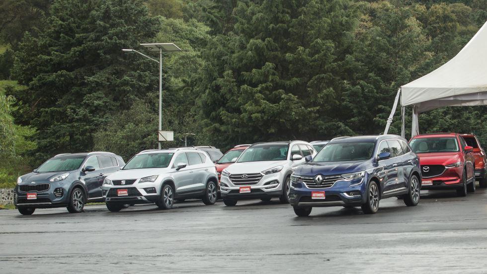 ¿El mejor SUV? Comparativa: 3008, Tucson, Tiguan, Ateca, Sportage, Koleos…