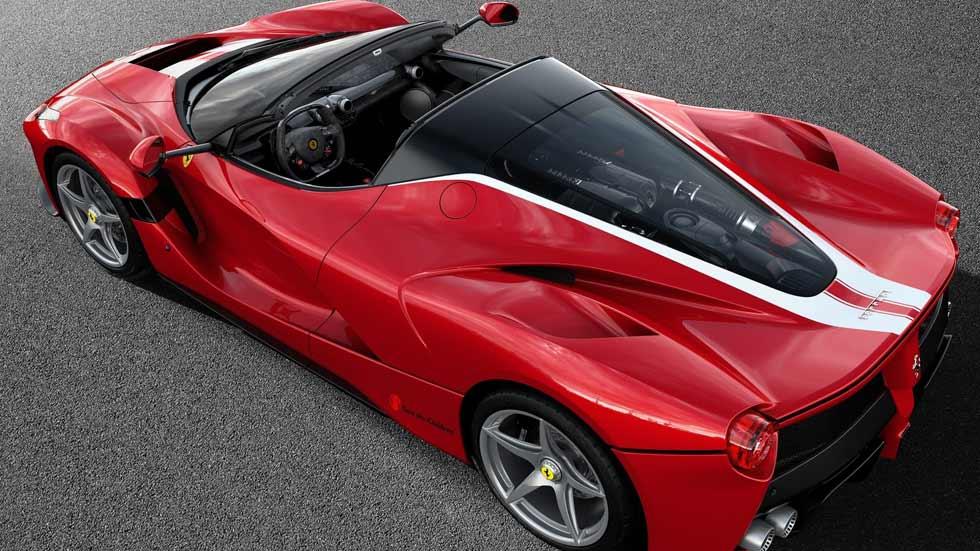 LaFerrari Aperta: el supercoche de Ferrari, a subasta