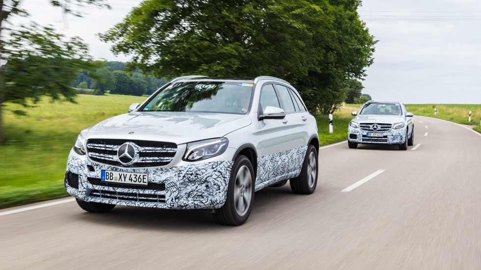 Mercedes GLC F-Cell: así será el nuevo SUV de hidrógeno