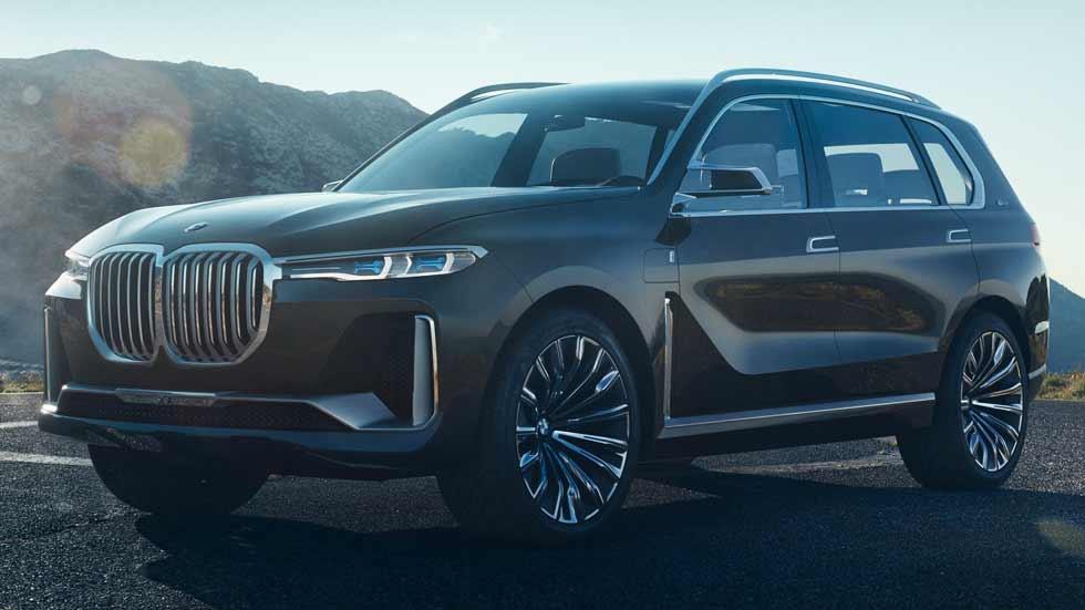 ¡Oficial! BMW X7 Concept: todos los datos e imágenes del nuevo SUV
