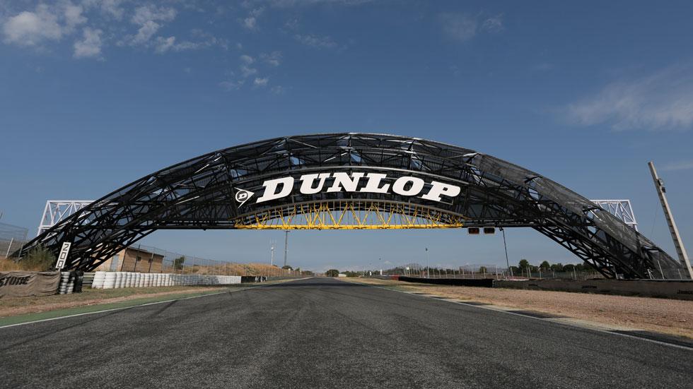 El Circuito del Jarama estrena su nuevo puente Dunlop