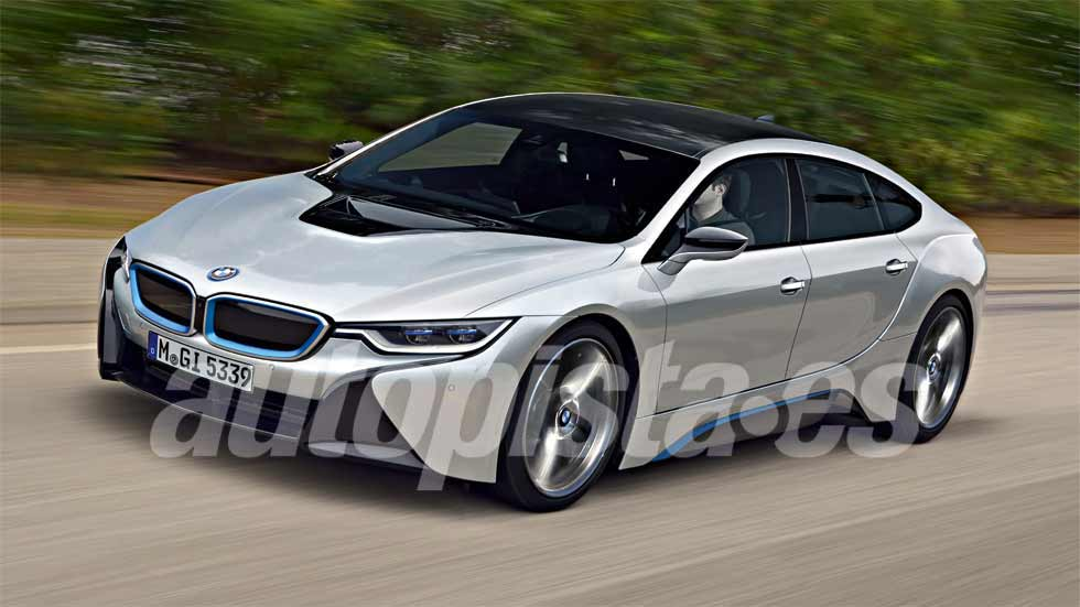 BMW i5 Concept: más datos e imágenes del nuevo coche eléctrico