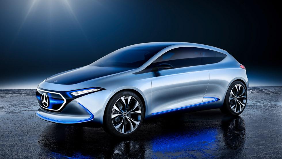 Mercedes EQ A Concept: ¿el nuevo Clase A eléctrico?
