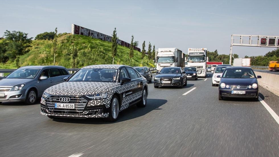 Audi A8 2018: a prueba su sistema de conducción autónoma (vídeo y fotos)