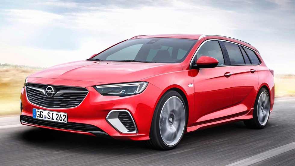Opel Insignia Sports Tourer GSi: para las familias más deportivas