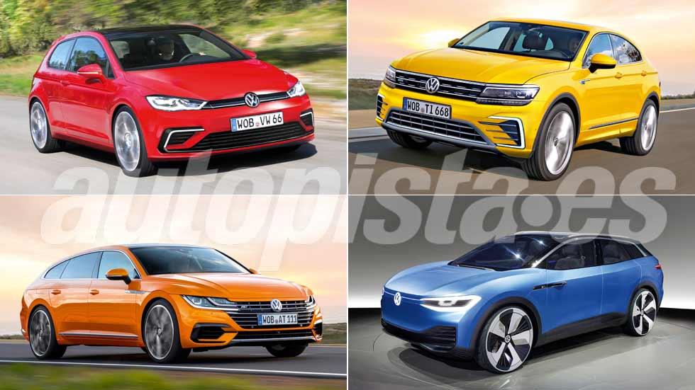 Todos los coches nuevos y SUV de Volkswagen hasta 2022