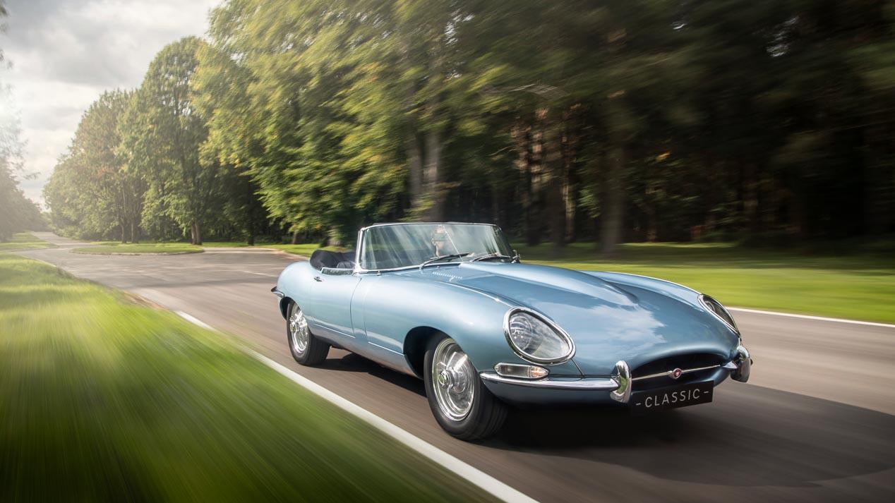 """Jaguar E-Type eléctrico con 300 CV: un """"clásico"""" moderno a precio exorbitado"""