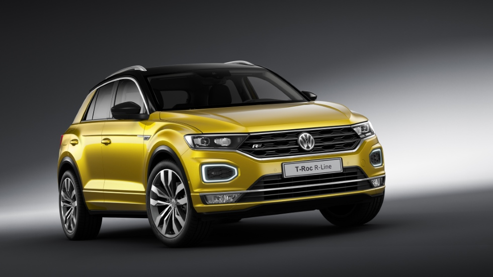 vw t roc r line as es la versi n m s deportiva del nuevo suv. Black Bedroom Furniture Sets. Home Design Ideas