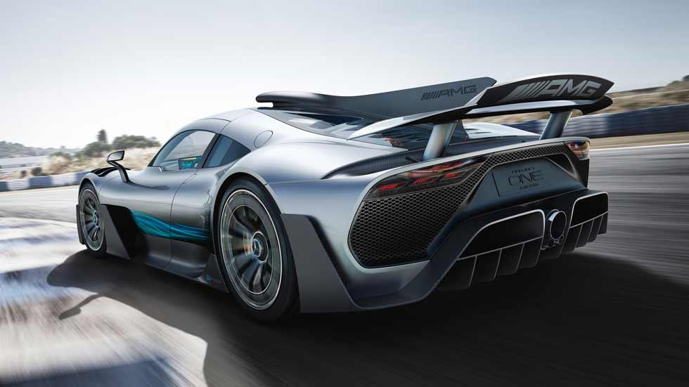 Mercedes-AMG Project One: así es el auténtico Fórmula 1 de calle