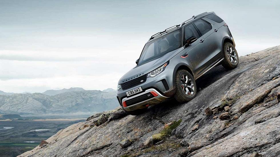 "Land Rover Discovery SVX: un SUV muy 4x4 de ""sólo"" 525 CV"