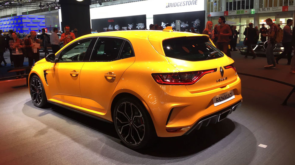 ¡Oficial! Así es el Renault Mégane R.S. 2018