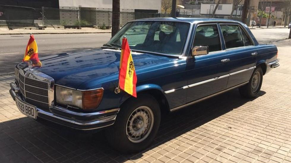 Subastado por 39.500 euros el Mercedes blindado del Rey Juan Carlos
