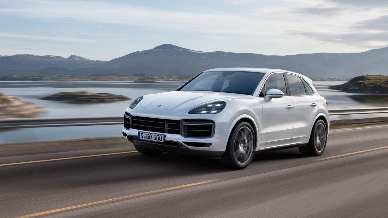 Porsche Cayenne Turbo: ¡550 CV por 160.613 euros!