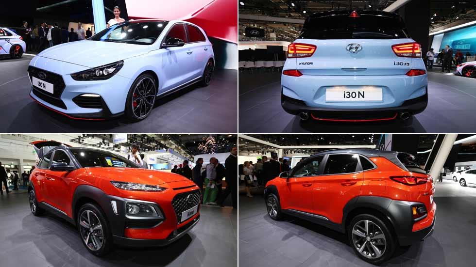 El SUV Hyundai Kona y el deportivo i30 N, en VÍDEO