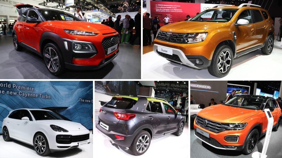 Salón de Frankfurt 2017: los mejores SUV para comprar ya