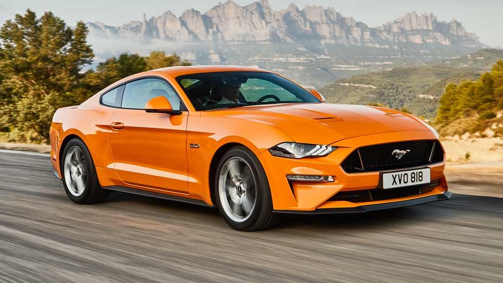 Ford Mustang: así es su gama 2018 para Europa
