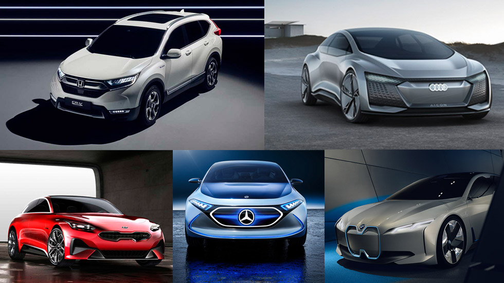 Los prototipos del Salón de Frankfurt 2017: nuestros 10 elegidos son...