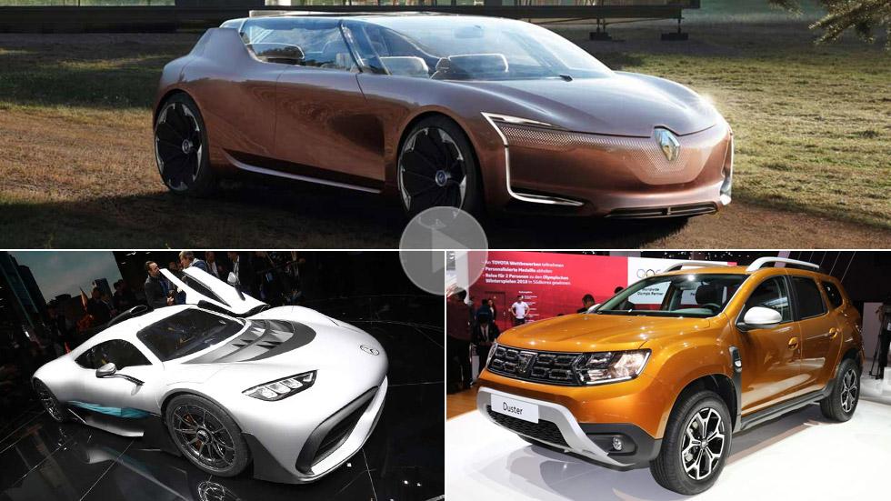 Los mejores coches del Salón de Frankfurt 2017, en VÍDEO