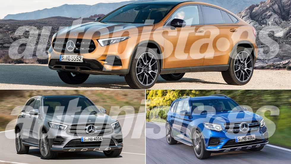 Los nuevos Mercedes SUV que llegan: GLA, GLB, EQ...