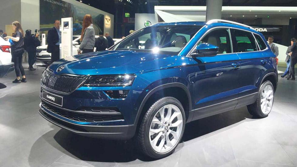 Skoda Karoq: el nuevo SUV compacto presentado en Frankfurt, en VÍDEO