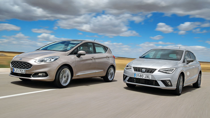 Ford Fiesta EcoBoost 125 vs Seat Ibiza 1.0 TSI 115: ¿cuál es mejor?