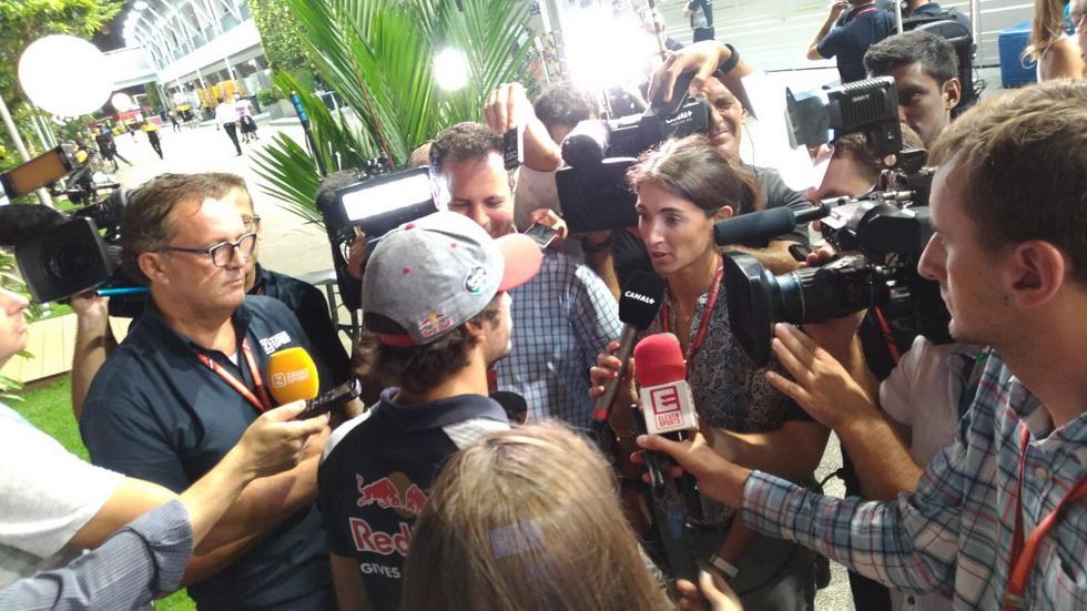 GP de Singapur: Sainz está preparado pero no se plantea correr con Renault en Malasia