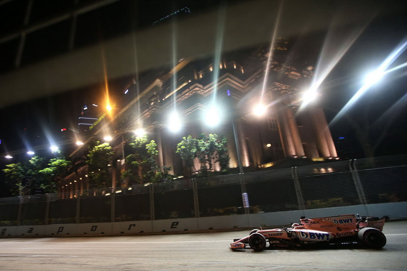 "GP de Singapur: Checo Pérez, en el ""top ten"""