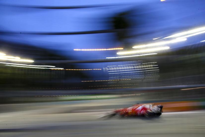 GP de Singapur: impresionante pole position de Vettel