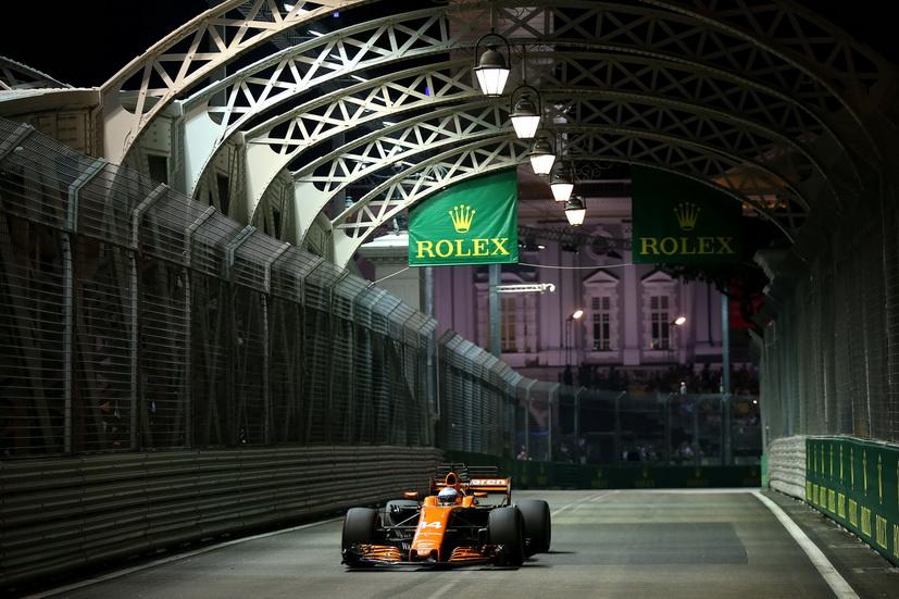 """GP de Singapur: """"el objetivo es puntuar con los dos coches"""", dice Alonso sobre la carrera"""