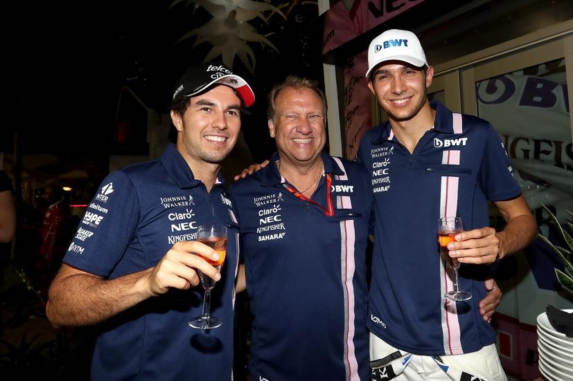 GP de Singapur: confirmado, Checo Pérez correrá un año más con Force India