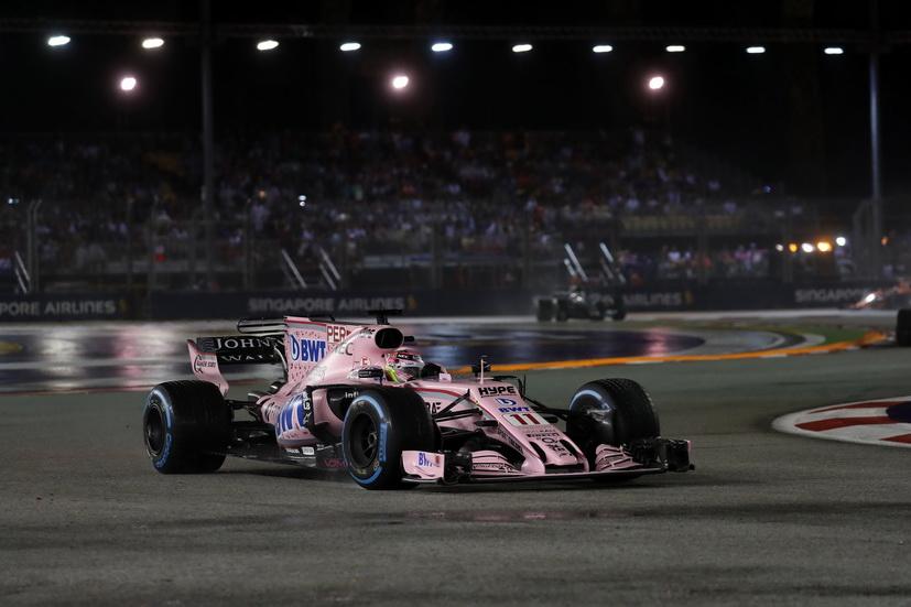 GP de Singapur: más puntos para Checo Pérez