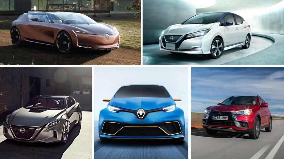 La nueva alianza Renault/Nissan/Mitsubishi: 12 nuevos eléctricos, híbridos, autónomos…