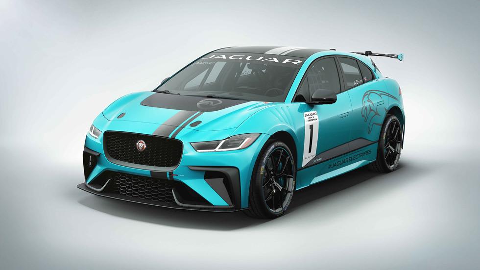 Jaguar I-Pace eTrophy, el SUV británico se pasa a las carreras