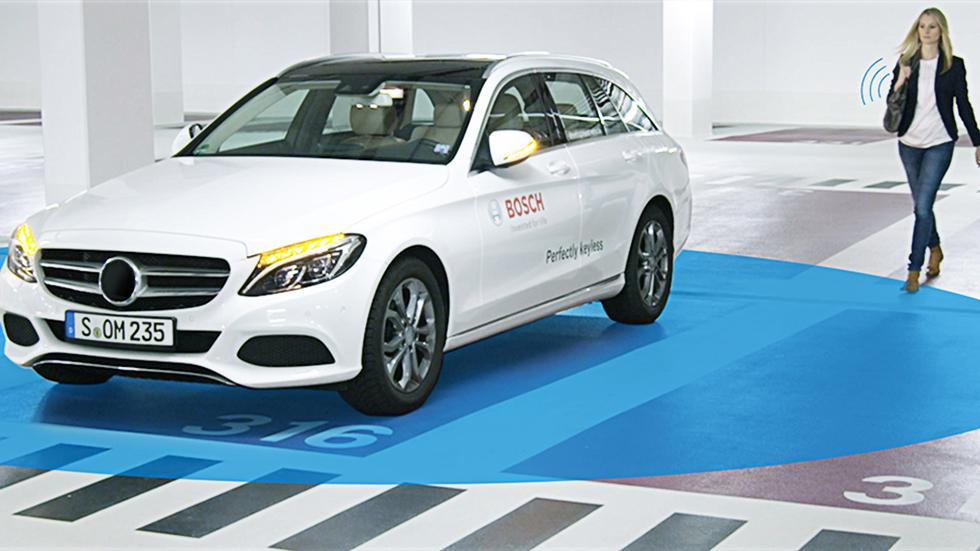 Bosch convierte el móvil en la llave digital de tu coche